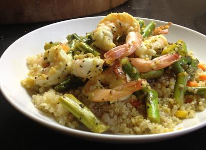 lemonyshrimp and quinoa2